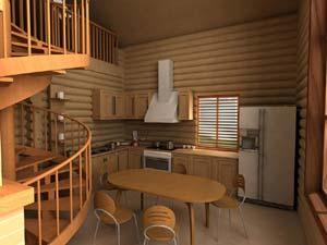 Гостевой дом с гаражом из SIP панелей по проекту ГД-153